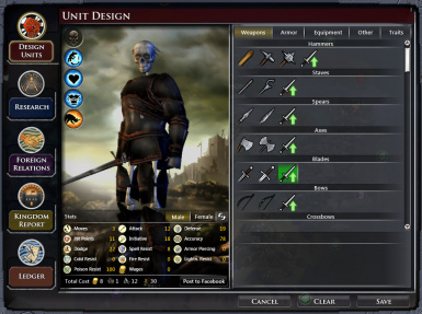 Undead with rusty armor