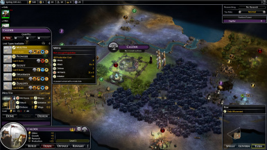 Units need gold and population to be trained