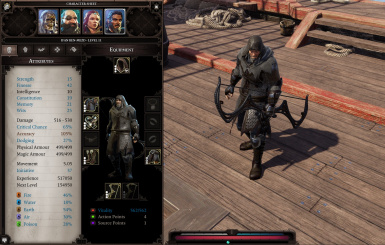 Wolf Armour (Weapon and set) at Divinity: Original Sin 2 Nexus