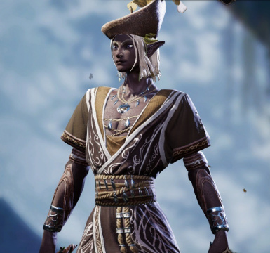 Finally able to look good as an elf with this and cleaner faces mod