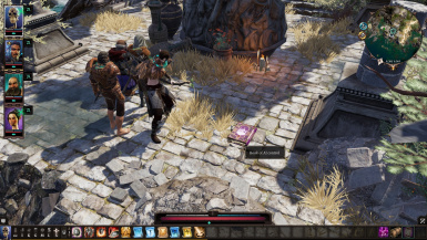 AI-controlled in battle party members at Divinity: Original