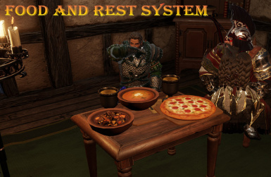 Food and Rest System (including the switchable Spirit Vision)