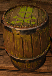1lb Poison Barrels (CLASSIC) - Convenience and Portability For The Undead Soul