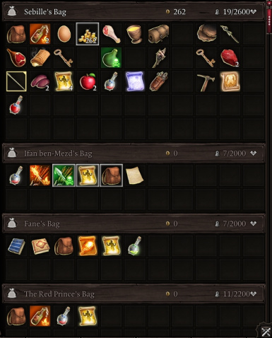 Weight and Level Cap (Definitive Edition)
