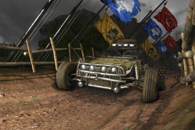FULL DIRT extreme rally map
