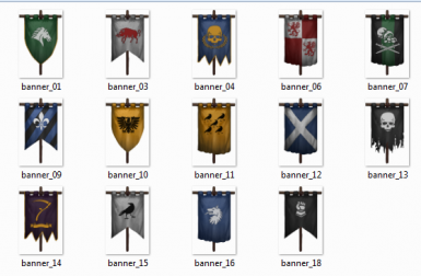 Old banners