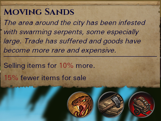Settlement Situation Tooltips - Compatible with all future events