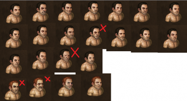4 Faces removed from random list by Male Face fix