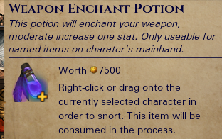 Enchant Weapons