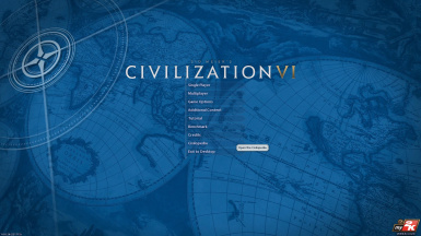Civilopedia on Main Menu