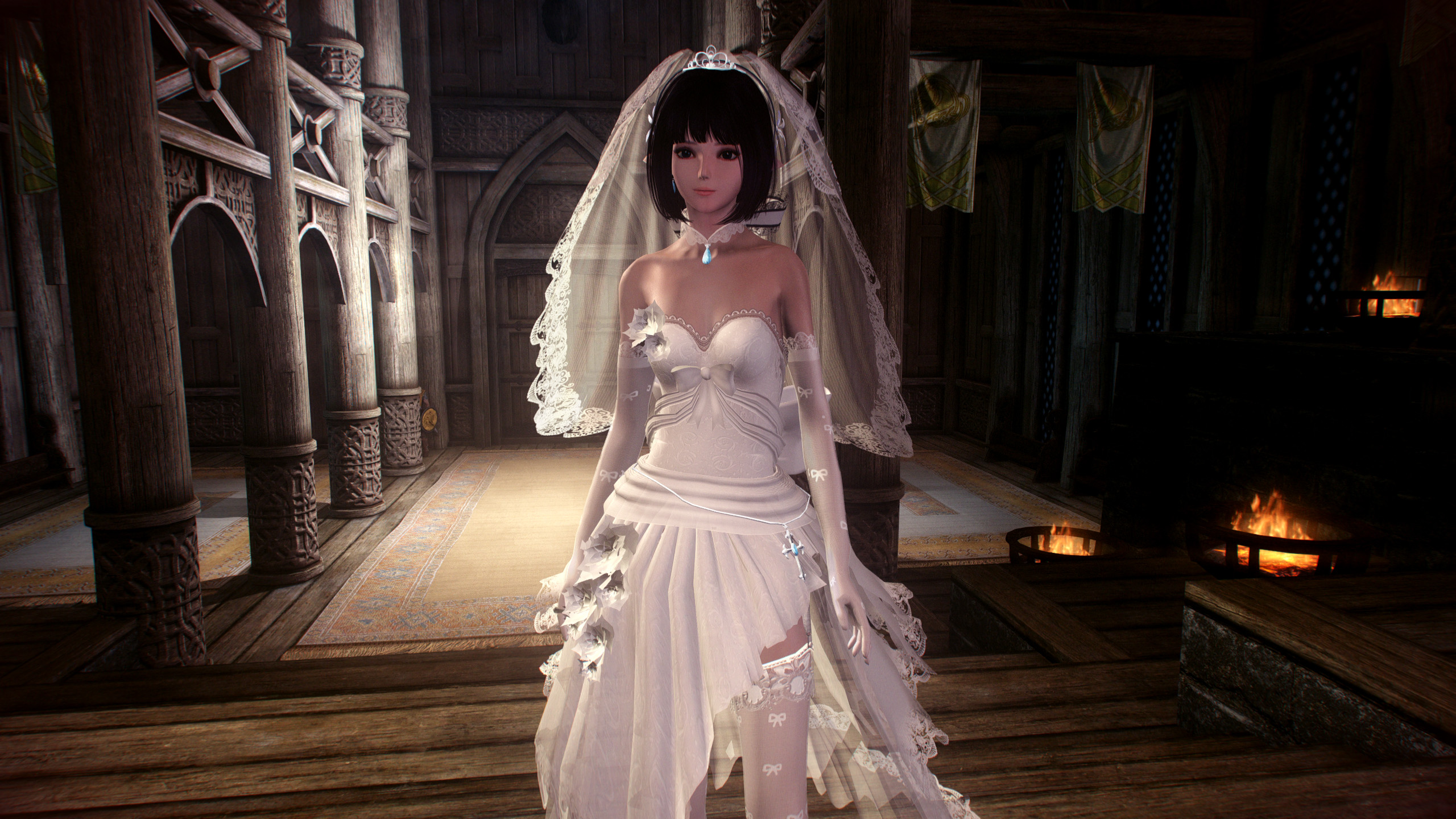 haku wedding dress skyrim