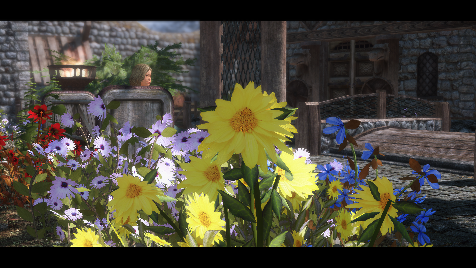 Eeks Mountain Flowers Sse At Skyrim Special Edition Nexus Mods And