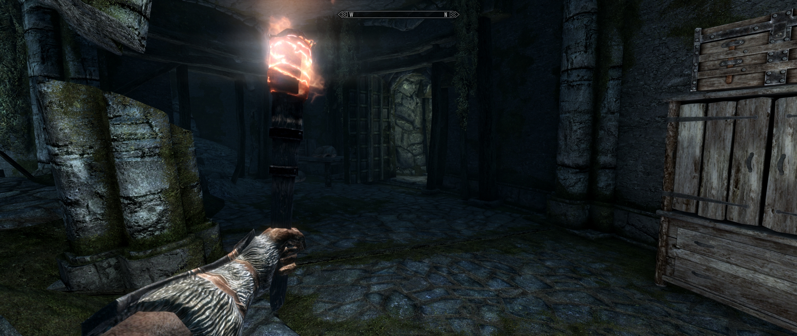Torch Light Expanded - Different Light Settings at Skyrim Special