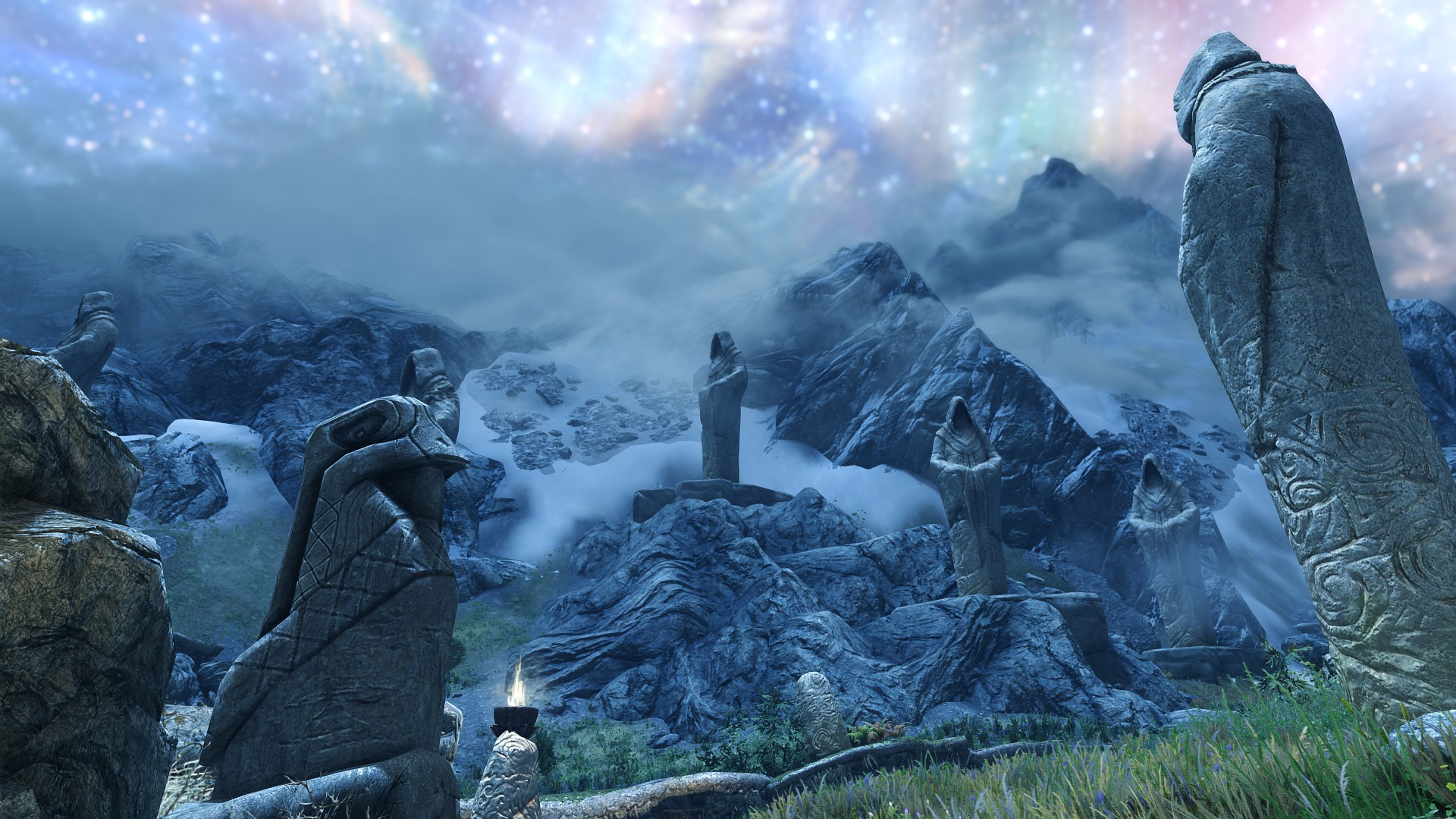 Sovngarde Concept Art Edition At Skyrim Special Edition