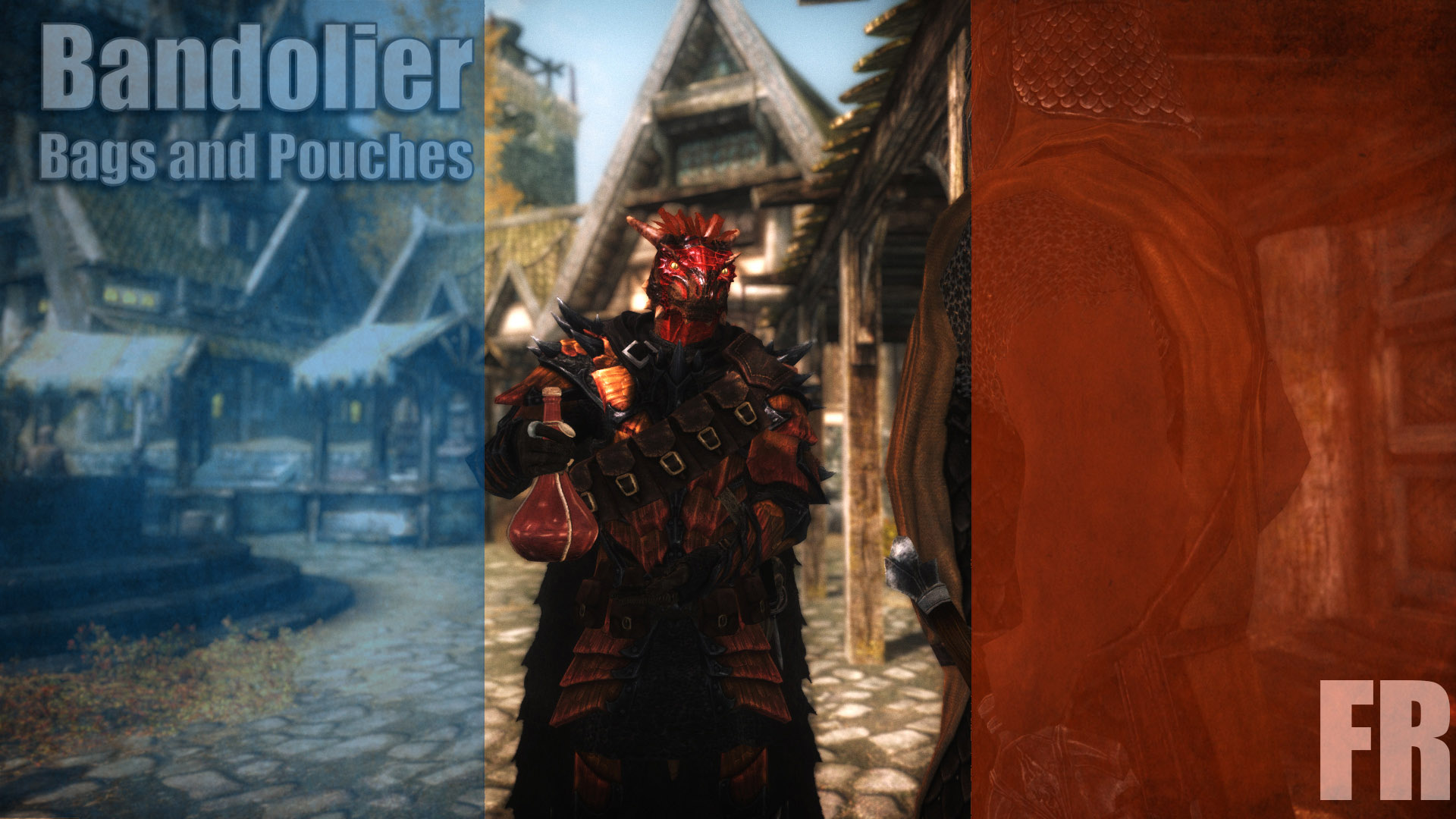 Bandolier Bags and Pouches Classic traduction francaise complete at Skyrim Special Edition Nexus - Mods and Community