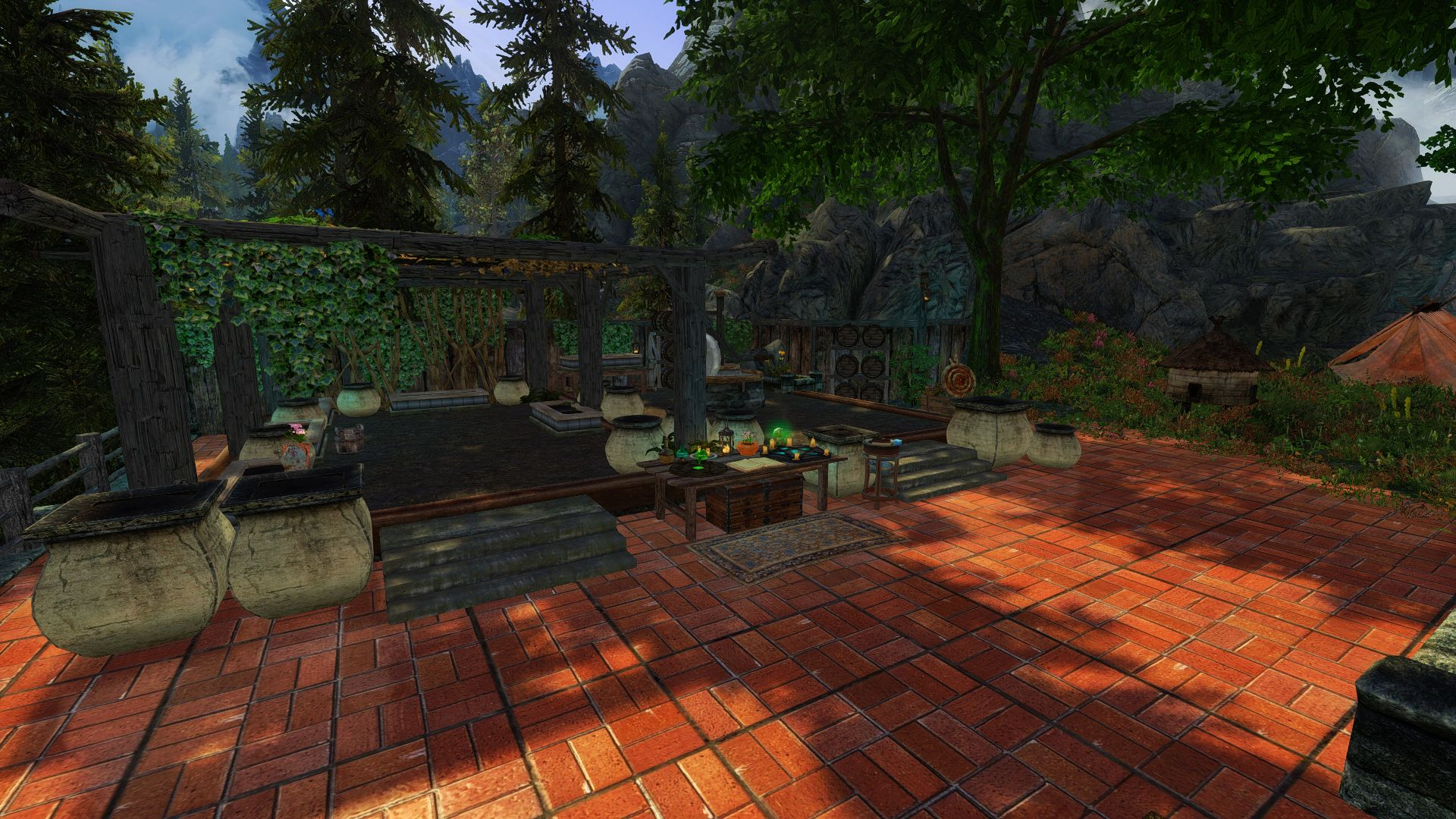 lakeview pool and bath ex for hearthfire sse at skyrim special