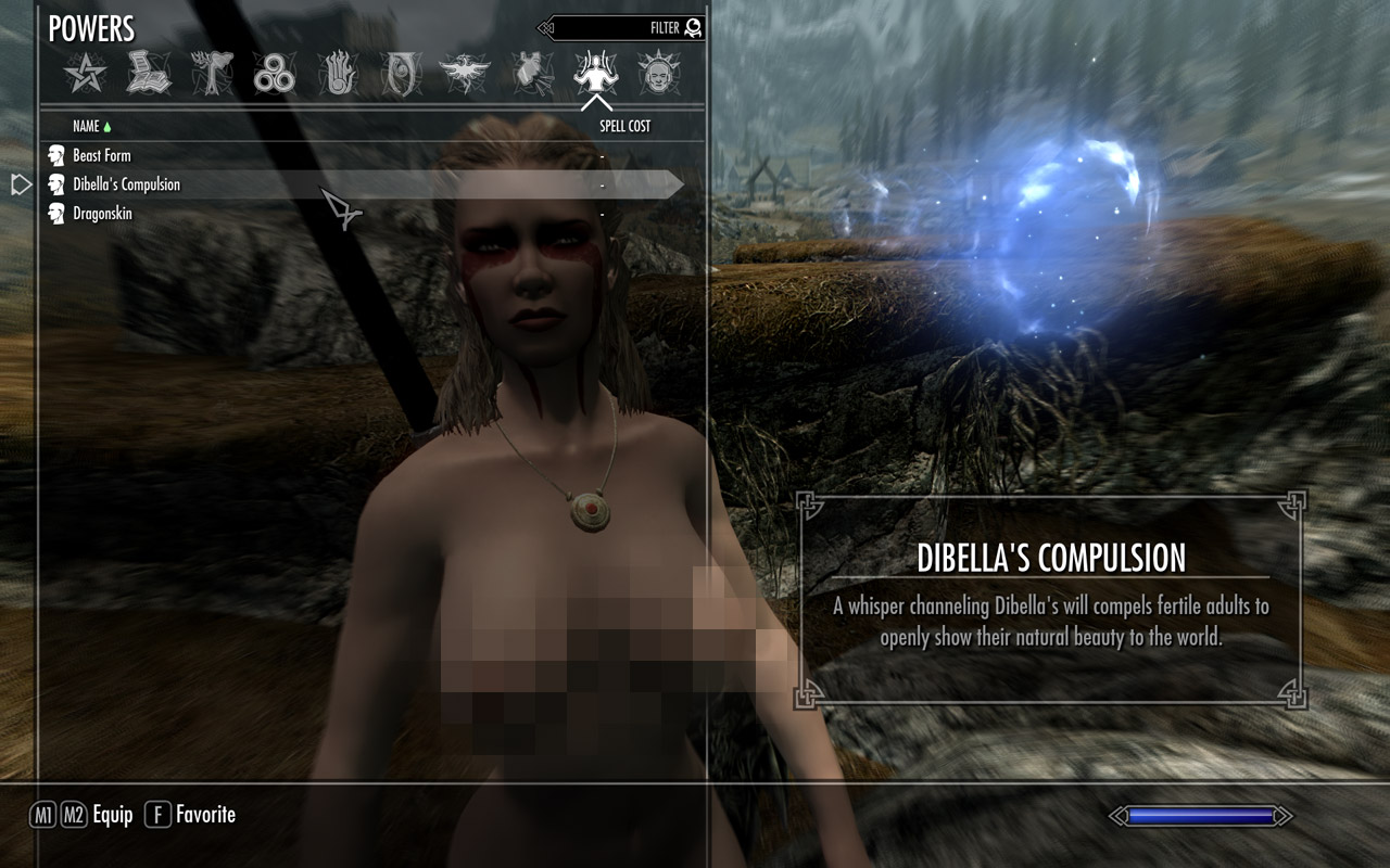 skyrim nude Dibellas Compulsion - Nude Spell at Skyrim Special Edition Nexus - Mods and  Community