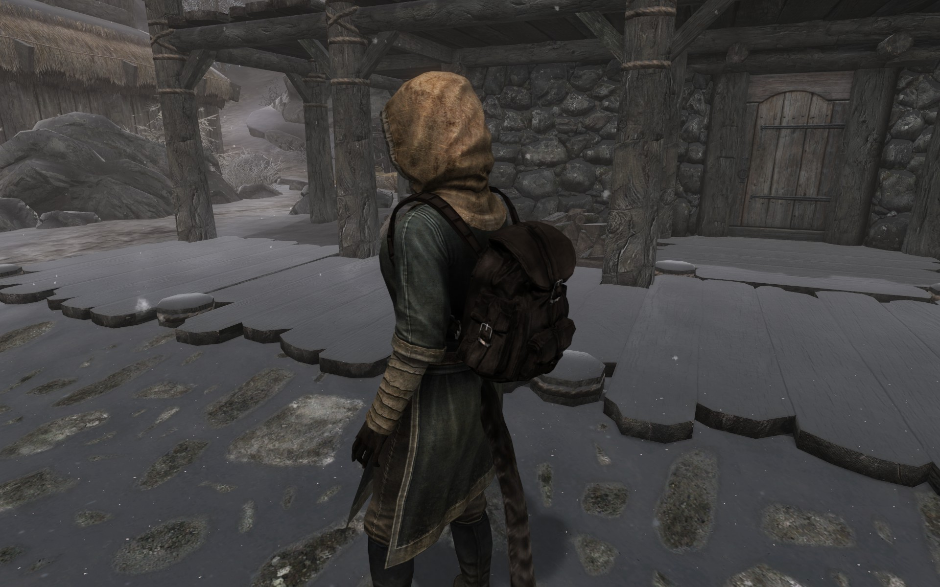 Leather Backpack - Special Edition at Skyrim Special Edition Nexus ...