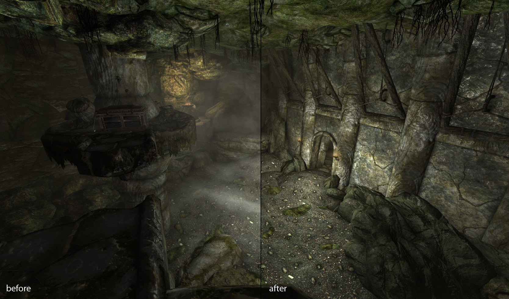 Interior Floating Fog Remover at Skyrim Special Edition