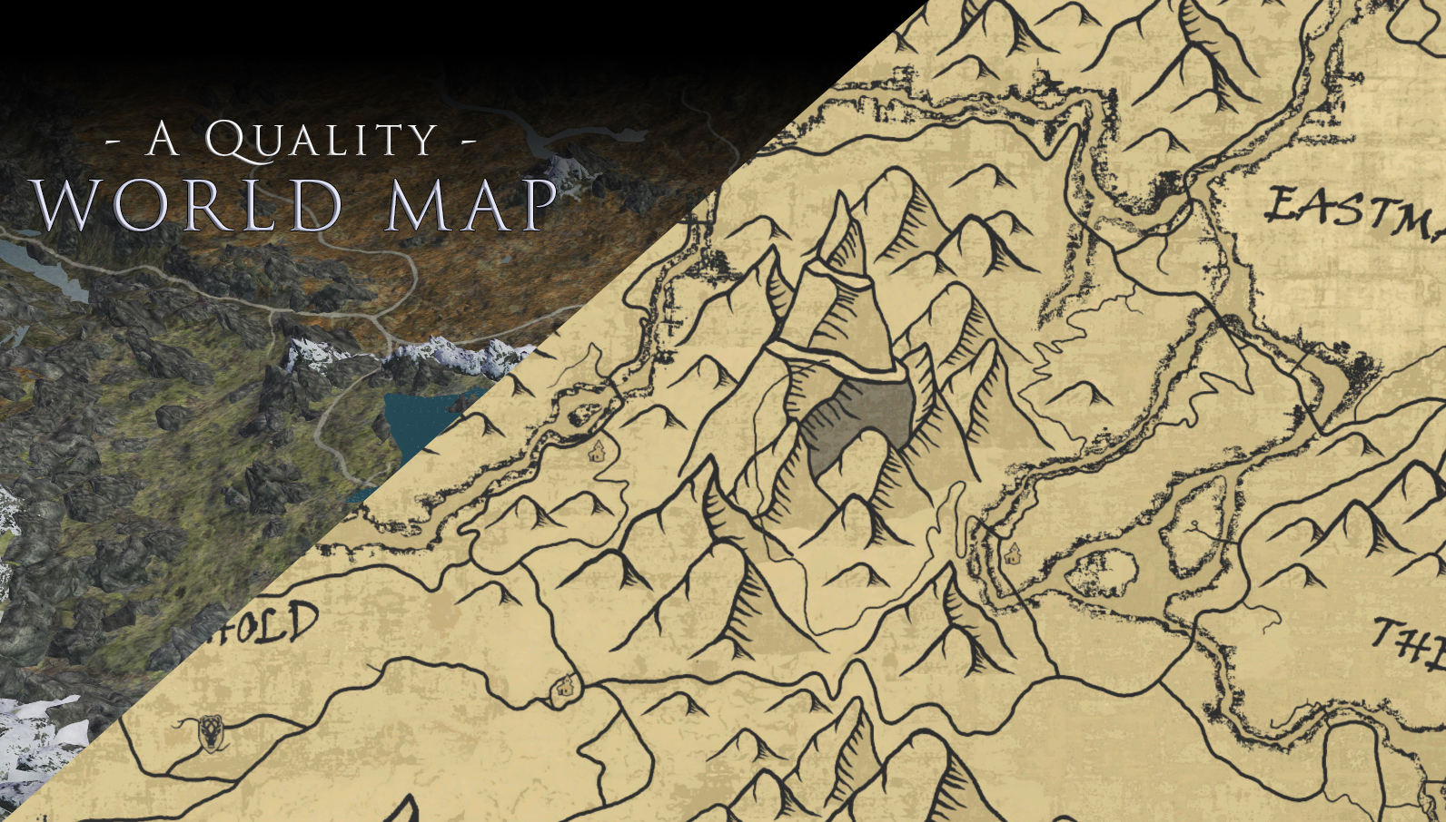 A Quality World Map At Skyrim Special Edition Nexus Mods And Community
