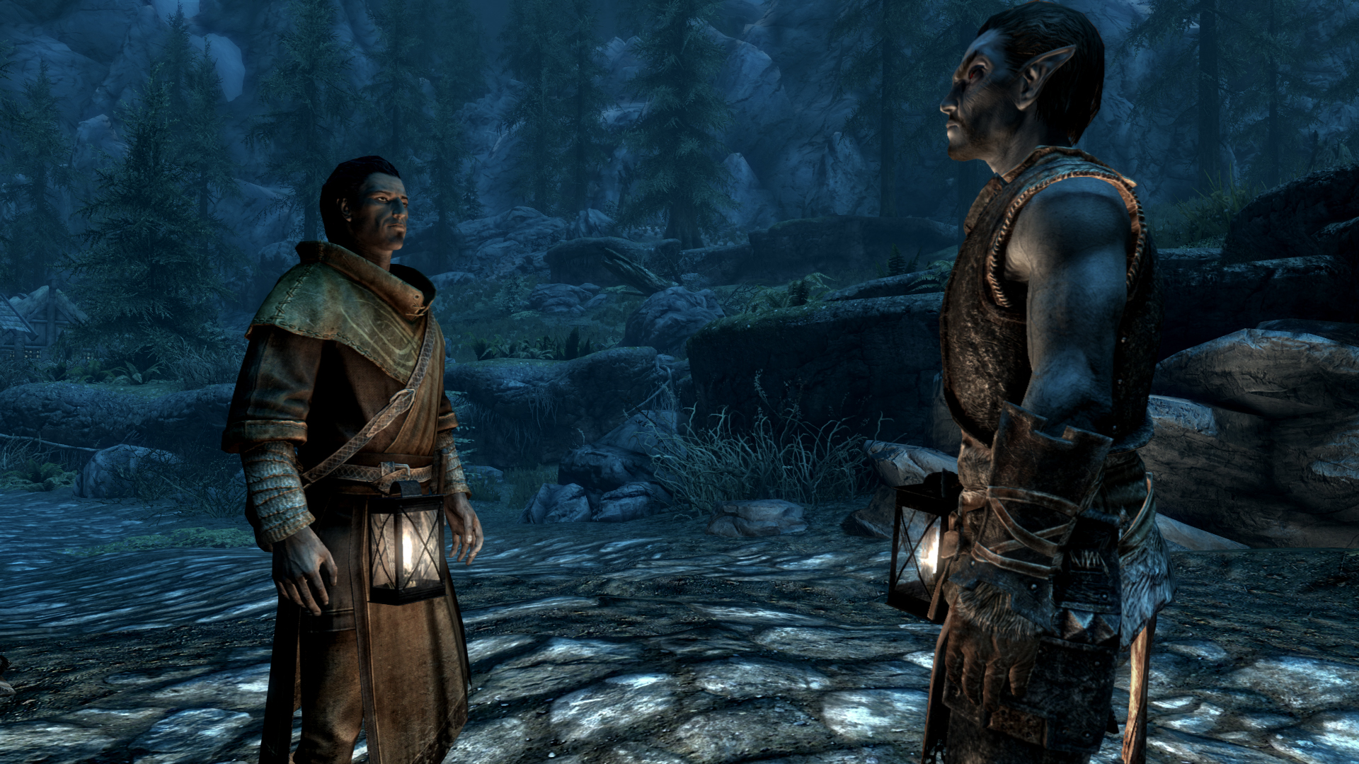 Wearable Lanterns at Skyrim Special Edition Nexus - Mods and Community
