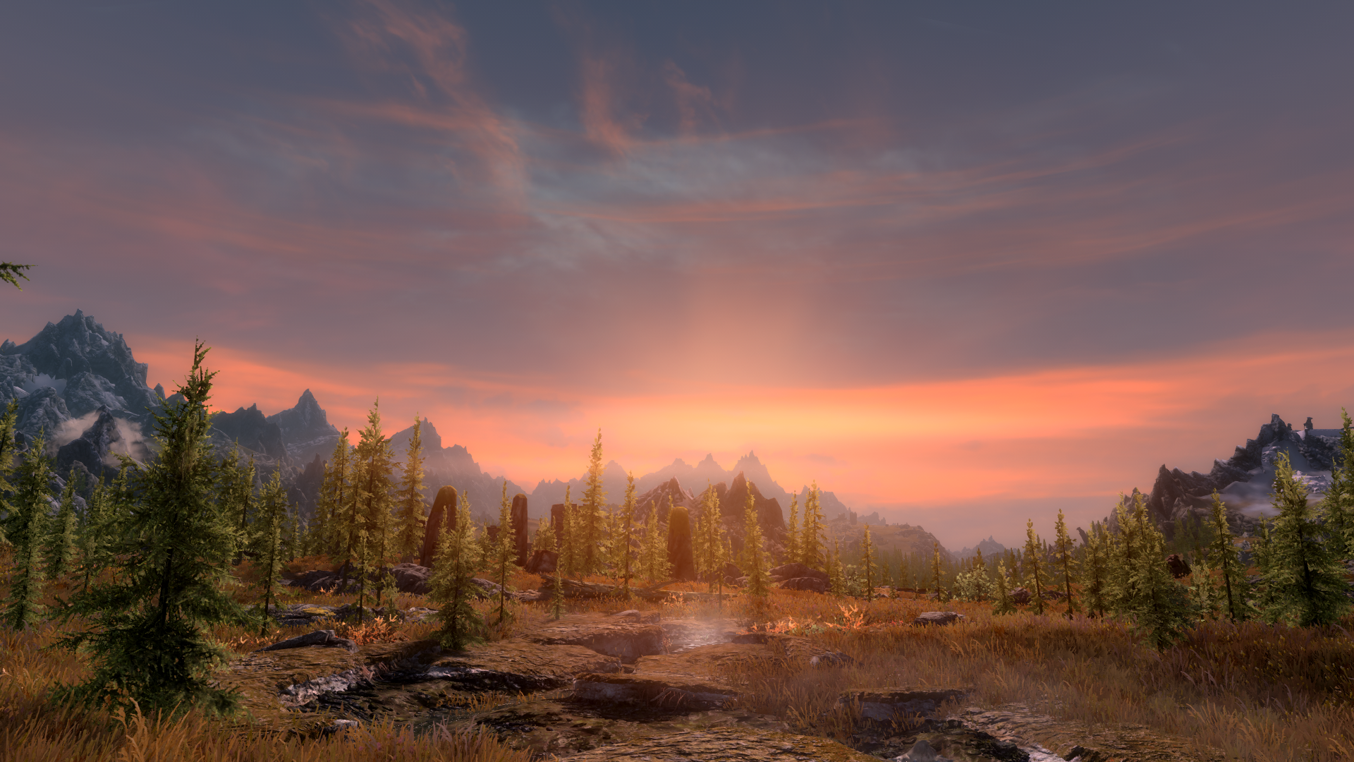 Natural Lighting For Vivid Weathers Skyrim Special Edition