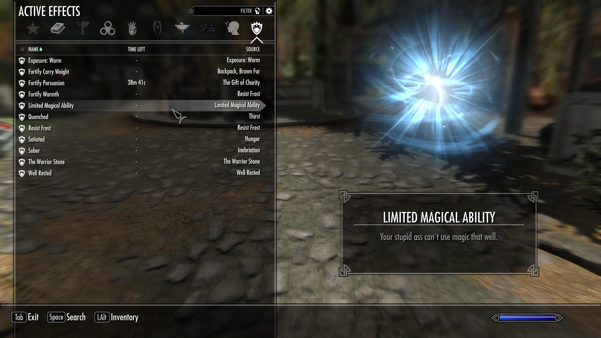 Roadhouse699's Witcher-style Gameplay Modification at Skyrim ...