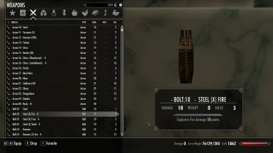 Weapons Sorting 0 2021 (Ammo)