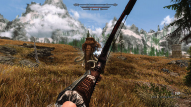 Firing Arrow at Mammoth
