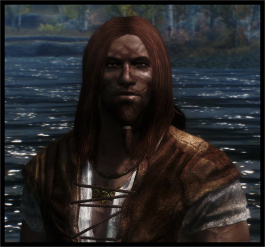 Manly not shiny Long Straight male hair next update