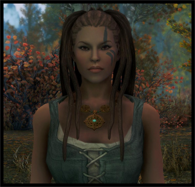 v_1_1 hair 24 long dreads for Elves orcs and human females