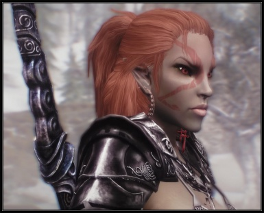 Elf Female Witcher hair v_1_3