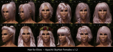 ApachiiSkyHair SSE at Skyrim Special Edition Nexus - Mods and Community