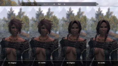 comparison vanilla  version- original soft alpha version