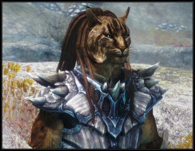 Male Khajiit long dreads v_1_3