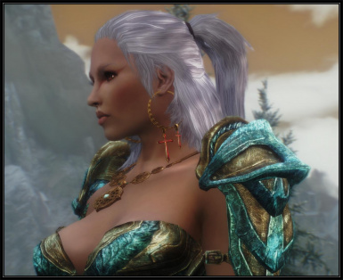 Witcher hair for females v_1_3