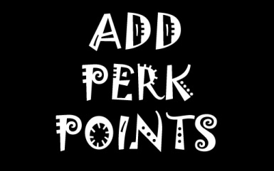 Add Perk Points