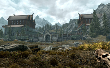 Dovahkiins Warehouse and Bedroom