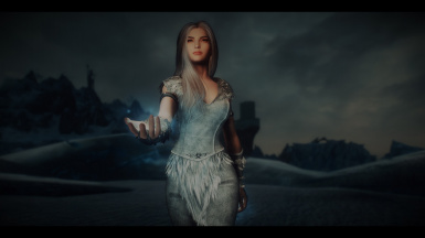 Diin the Ice Mage - A standalone follower mod at Skyrim
