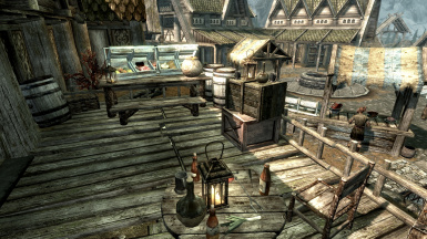 Bannered Mare Patio