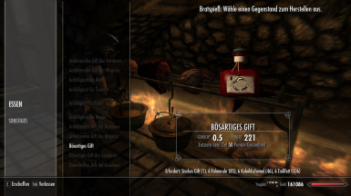 Concoct a Potion at Skyrim Special Edition Nexus - Mods and Community