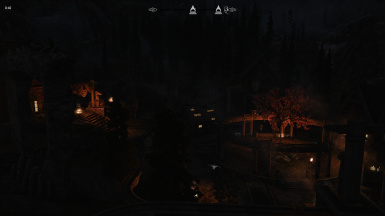 Whiterun by night