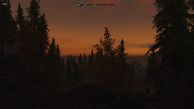 Sunset after Riverwood