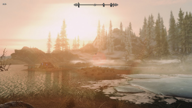 Sunrise near Dawnstar