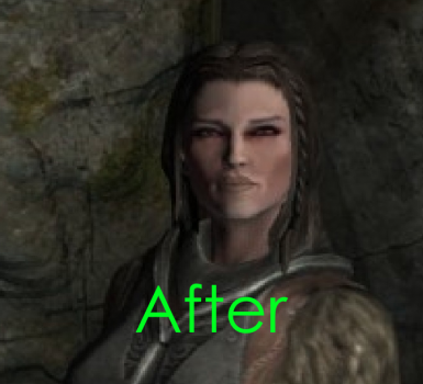 Dark Face Fix at Skyrim Special Edition Nexus - Mods and Community