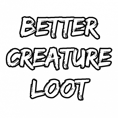 Better Creature Loot