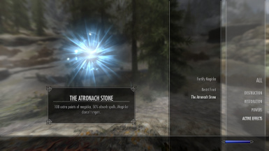 Original Atronach Effect