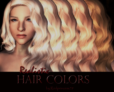 Realistic Hair Colors