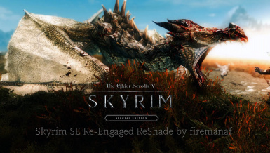 SkyrimSE Re-Engaged ENB