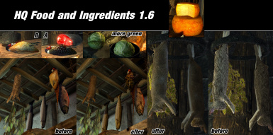 HQ Food And Ingredients - Skyrim LE - Original Pic